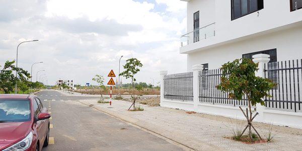 Hình ảnh thực tế tại dự án Khu đô thị Bàu Xéo