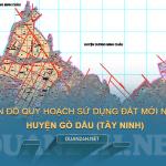 Tải về bản đồ quy hoạch sử dụng đất huyện Gò Dầu (Tây Ninh)