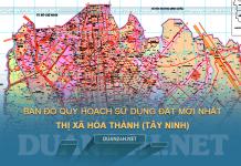 Tải về quy hoạch sử dụng đất thị xã Hòa Thành (Tây Ninh)