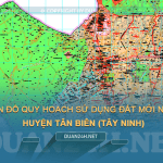 Tải về bản đồ quy hoạch sử dụng đất huyện Tân Biên (Tây Ninh)