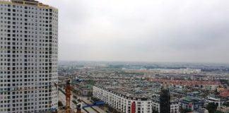 Một dự án khu đô thị tại Hà Đông, Hà Nội. Ảnh: Nguyễn Hà
