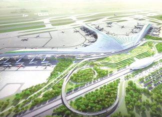 Phối cảnh sân bay Long Thành (Đồng Nai)