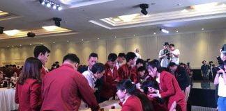 Một buổi mở bán dự án của địa ốc Alibaba