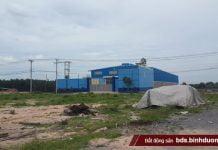 Hiện trạng các nhà xưởng xây dựng trại phép tại cụm công nghiệp Phước Tân
