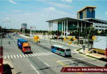 Trung tâm hành chính tập trung và khu triển lãm quốc tế tại thành phố mới Bình Dương
