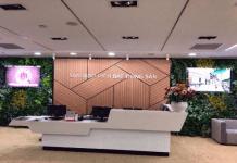 Sàn giao dịch bất động sản của Becamex IJC tại tầng 5, Becamex Tower, 230 Đại lộ Bình Dương, TP Thủ Dầu Một, tỉnh Bình Dương.