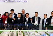 Phó Thủ tướng Trịnh Đình Dũng cùng Ban tổ chức Horasis