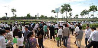 Theo tìm hiểu, Becamex ITC đã mở bán đợt 1 dự án The Golden Park Mỹ Phước 1 và đang tiếp tục mở bán đợt 2.