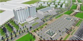 Thiết kế trung tâm hành chính tỉnh Bàu Bàng