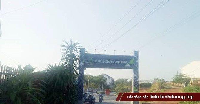 Cổng dự án Central Residence Bình Dương