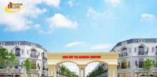Phối cảnh dự án Khu đô thị Sài Gon Center