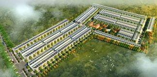 Phối cảnh dự án Phố thương mại Lộc Phát