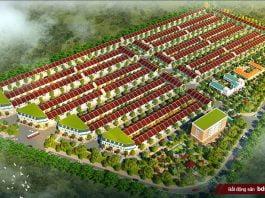 Phối cảnh tổng thể dự án Khu nhà ở Tài Lộc (Long Nguyên - Bàu Bàng)