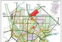 Sơ đồ phát triển đô thị theo giai đoạn của thị xã Tân Uyên