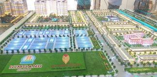 Mô hình dự án The Golden Square Bình Dương của Kim Oanh Group