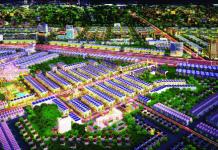 Hana Garden Mall nằm đối diện cổng khu công nghiệp VSIP 2 mở rộng.