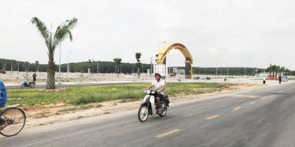 Thực tế hạ tầng Khu nhà ở Tân Lập (Bắc Tân Uyên)
