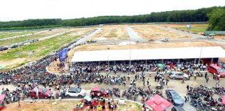 Lễ động thổ được tổ chức tại khu vực chợ dự án Hana Garden Mall