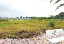 Sau gần 2 năm mở bán, Dự án Rio Grande (quận 9, TP HCM) vẫn chỉ toàn cỏ mọc.