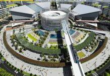 Mô hình Trung tâm thương mại thế giới tại TP mới Bình Dương