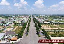Một góc Khu đô thị - Công nghiệp - Dịch vụ Bàu Bàng, nơi thu hút nhiều doanh nghiệp và giới kinh doanh bất động sản đổ vốn đầu tư