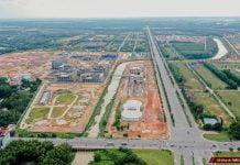 Đại học quốc tế Việt Đức nhìn từ trên cao