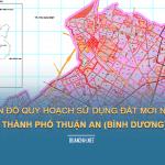Tải về bản đồ quy hoạch sử dụng đất Thành phố Thuận An (Bình Dương)