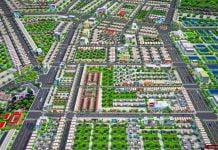 Phối cảnh tổng thể dự án Golden Future City Bình Dương