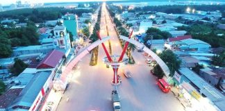 Cổng khu công nghiệp Minh Hưng 3 (Chơn Thành)