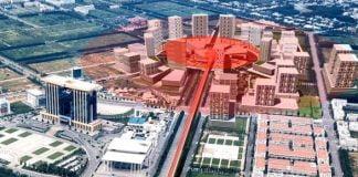 Vị trí xây dựng trung tâm thương mại thế giới tại Thành phố mới Bình Dương
