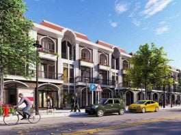 Phối cảnh dự án Sunview City Bàu Bàng