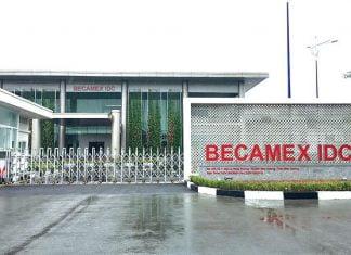 Việc thu hồi để giao cho Công ty cổ phần Setiabecamex để thực hiện dự án khu nhà ở thương mại R9A, R9B thuộc khu dân cứ Mỹ Phước 3. (Ảnh: Becamex IDC)