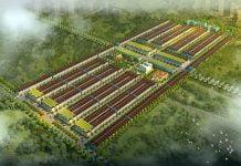 Phối cảnh tổng thể dự án Nam An New City Bàu Bàng