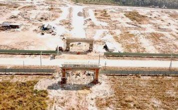 Thực tế tiến độ thi công hạ tầng dự án Phúc Hưng Golden