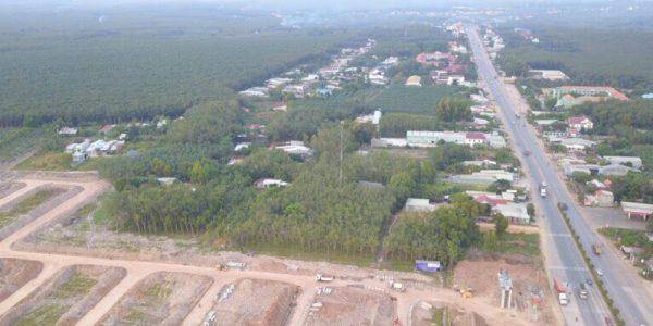 Thực tế dự án Green City Phú Giáo