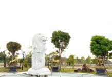 Công viên trung tâm Khu đô thị Mega City