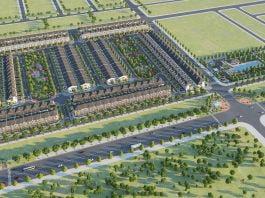 Phối cảnh tổng thể dự án Sun Casa Central