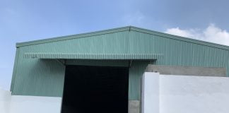 Cho thuê xưởng 1200m2 tại Vsip 2, Tân Uyên, bình Dương