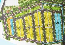 Bản đồ phân lô dự án Khu đô thị Eco Home Mỹ Phước