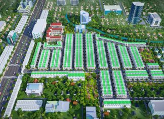 Phối cảnh dự án Green City Phú Giáo (Phương Trường An 5)