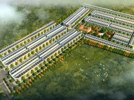 Phối cảnh tổng thể dự án Lộc Phát Bàu Bàng