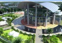 Trung tâm thương mại thế giới tại Thành phố mới Bình Dương