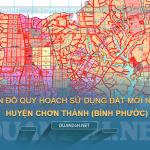 Tải về bản đồ quy hoạch sử dụng đất huyện Chơn Thành (Bình Phước)