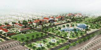 Phối cảnh Dự án Trung tâm hành chính và Khu đô thị mới thị xã Phước Long. Ảnh chỉ mang tính minh họa. Nguồn Internet