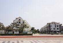 Góc nhìn toàn cảnh Nhà phố Midori Park (Thành phố mới Bình Dương)