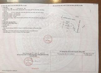 Bán lô góc 147,5m2, Khu tái định cư Phú Chánh C, phường Phú Tân, Tp. Thủ Dầu Một