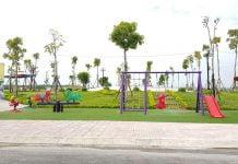Góc vui chơi cho trẻ em tại Công viên trung tâm dự án Golden Future City