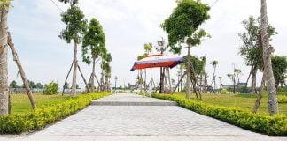 Toàn cảnh dự án Golden Future City Bàu Bàng tháng 02/2020