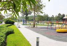 Công viên Midori Park Thành phố mới Bình Dương 02/2020