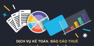 Dịch vụ Kế toán, Báo cáo thuế tại Thành phố Dĩ An (Bình Dương)